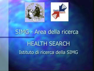 SIMG - Area della ricerca
