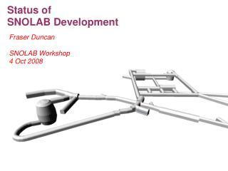 Status of  SNOLAB Development