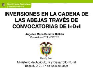 INVERSIONES EN LA CADENA DE LAS ABEJAS TRAVÉS DE CONVOCATORIAS DE I+D+I