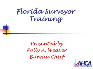 Florida Surveyor Training