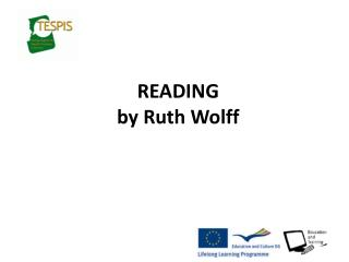 READING by Ruth Wolff