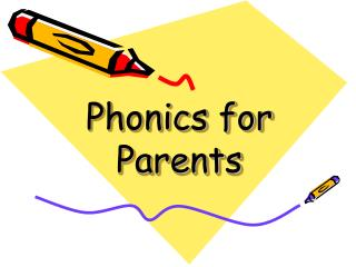 Phonics for Parents