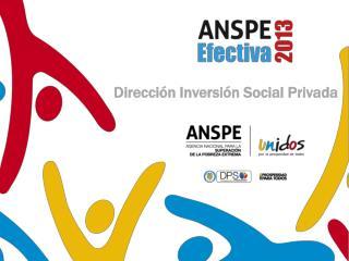 Dirección Inversión Social Privada