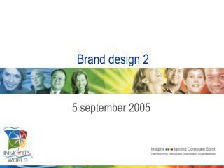 Brand design 2