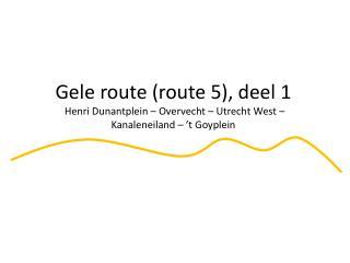 Henri Dunantplein: slechte aansluiting wegdek vanaf het Henri Dunantplein naar Gageldijk.