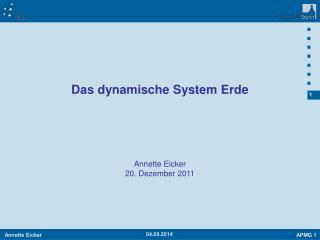 Annette Eicker 20. Dezember 2011