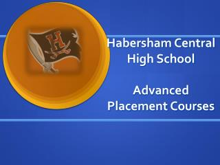 Habersham Central High School Advanced Placement Courses