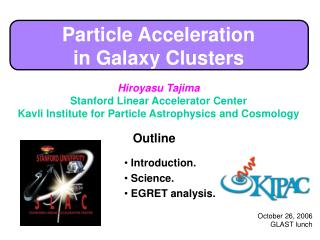 Particle Acceleration  in Galaxy Clusters