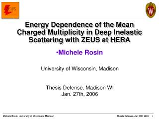 Energy Dependence of the Mean Charged Multiplicity in Deep Inelastic Scattering with ZEUS at HERA