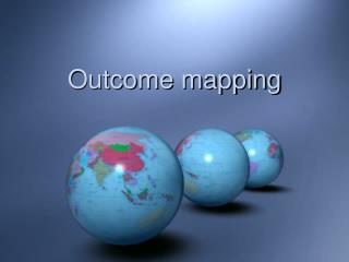Outcome mapping