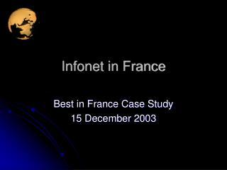 Infonet in France
