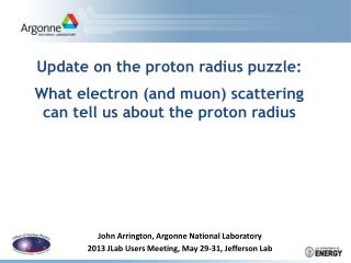Update on the proton radius puzzle: