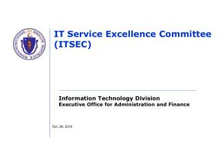 IT Service Excellence Committee (ITSEC)