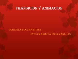 TRANSICION Y ANIMACION