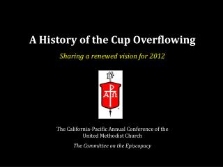 A History of the Cup Overflowing
