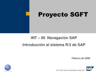 Proyecto SGFT
