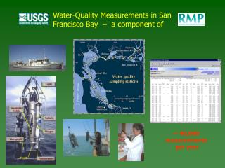 Water-Quality Measurements in San Francisco Bay  –  a component of