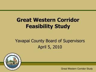 Great Western Corridor Feasibility Study