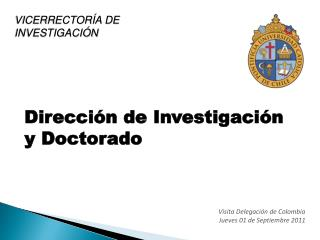 Dirección de Investigación y Doctorado