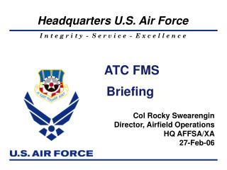 ATC FMS Briefing