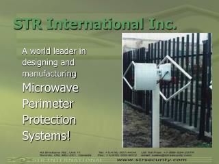 STR International Inc.