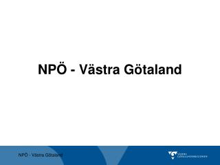 NP� - V�stra G�taland