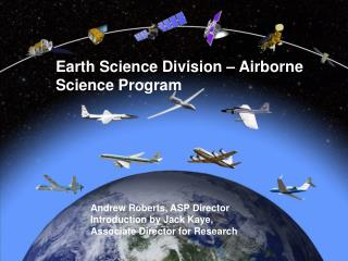 Earth Science Division – Airborne Science Program