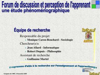 Programme d'aide à la recherche sur l'enseignement et l'apprentissage