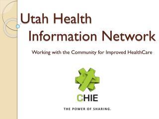 Utah Health   Information Network