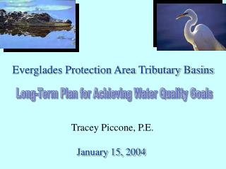 Everglades Protection Area Tributary Basins