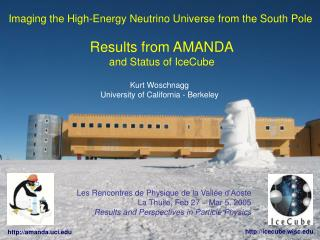 Imaging the High-Energy Neutrino Universe from the South Pole