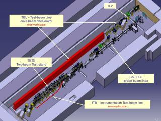 CALIFES probe-beam linac