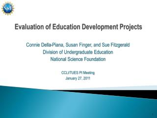 Evaluation of Education Development Projects