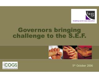 Governors bringing challenge to the S.E.F.