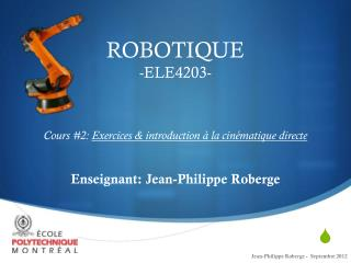 Cours #2