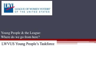 Young People & the League:  Where do we go from here?