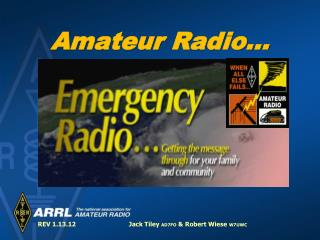 Amateur Radio…