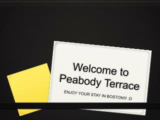 Peabody Terrace