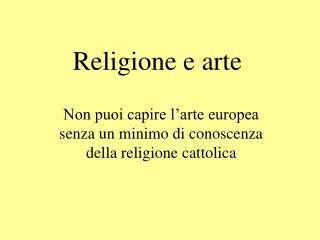 Religione e arte