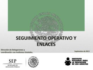 Dirección de Delegaciones y coordinación con Institutos Estatales.