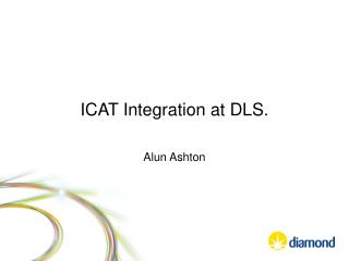 ICAT Integration at DLS.