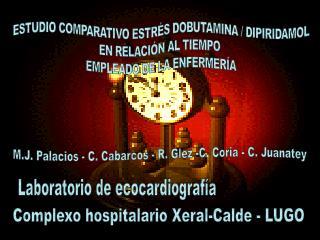 ESTUDIO COMPARATIVO ESTR�S DOBUTAMINA / DIPIRIDAMOL EN RELACI�N AL TIEMPO