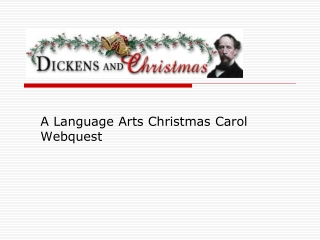 An Internet WebQuest  on  Victorian England