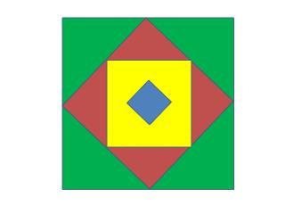 Blauw:  10 punten Geel: 8 punten Rood: 6 punten Groen: 4 punten