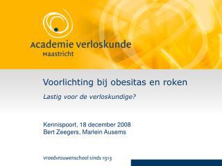 Voorlichting bij obesitas en roken