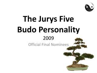 World Budopersonality 2009