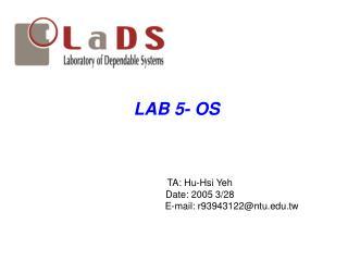 LAB 5- OS