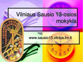 Vilniaus Sausio 13-osios  mokykla