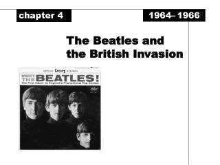 The Beatles and the British Invasion