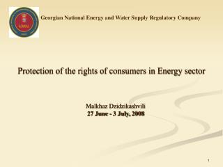 Georgian National Energy and Water Supply Regulatory Company